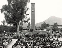 The carillon was dedicated on Oct. 2, 1966