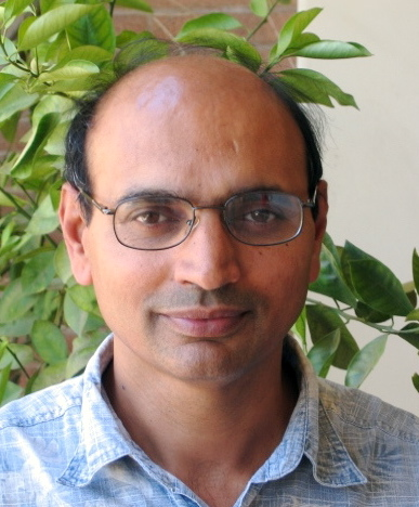 Subray Hegde, a postgraduate research geneticist at UCR, is the lead author of a paper in <i>Evolution</i> that reports definitive genetic evidence for the hybrid origin of the California wild radish.