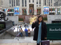 Cecilia Vu, this year's Rockefeller Brothers Fund Fellowship recepient.