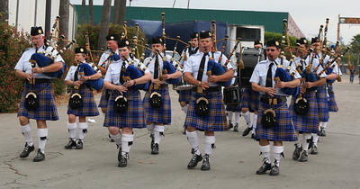 The UCR Pipe Band won first prize in the Grade 4 Pipe Band Competition in the quick march and timed medleys at the Highland Games in Flagstaff, Ariz., on July 21-22.