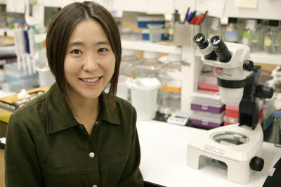 Cheryl Hayashi is an associate professor of biology at UCR. Photo credit: The MacArthur Foundation.