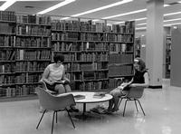 Students study in the Tomás Rivera Library in the 1960s.