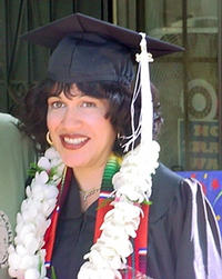 Ph.D. candidate Acela Ojeda graduated from UCR with two Bachelor's degrees.