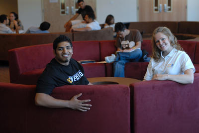 New Student Commons is gathering spot