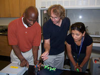 Hands-on science activities are the focus of UC Riverside's Community College Internships (CCI) held July 28 to Aug. 8.