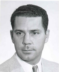 Charles J. A. Halberg, Jr., an emeritus professor of mathematics at the University of California, Riverside, passed away at home in Carlsbad on June 1, 2009. Photo credit: UCR Strategic Communications.  (Photo was taken in the mid-1950s.)