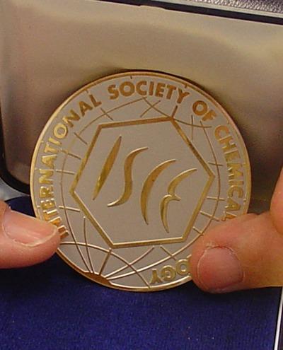 ISCE Silver Medal.  Photo credit: UCR Strategic Communications.