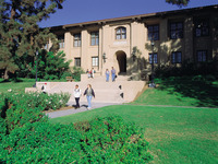 Anderson Hall, home of UCR's School of Business Administration