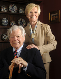 Arthur and Peggy Littleworth will receive the UCR Medallion. Photo by Gabriel Acosta.