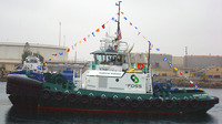 The hybrid tugboat Carolyn Dorothy.
