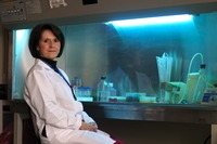 Manuela Martins-Green is a professor of cell biology at UC Riverside.  Photo credit: UCR Strategic Communications.