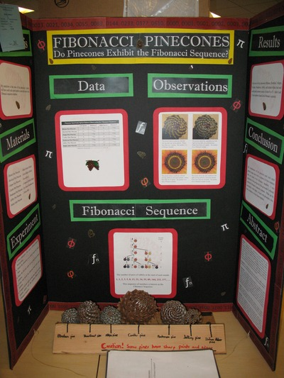 A typical student presentation at the Science and Engineering Fair.  Photo credit: CNAS, UC Riverside.