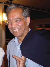 Chandra Varma is a distinguished professor of physics and astronomy and Chancellor's Chair at UC Riverside.  Photo credit: Varma lab, UC Riverside.