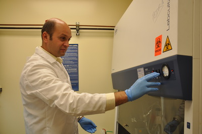 Joao Pedra, an assistant professor of entomology at UC Riverside, has received a $1.6 million grant from the National Institutes of Health to study how our immune system responds to rickettsial infection. Photo credit: UCR Strategic Communications.