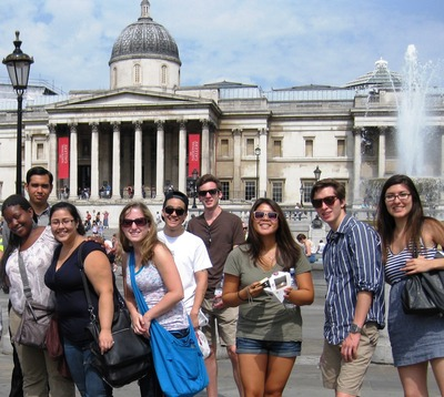 A closer look at some of the students traveling in London this summer.