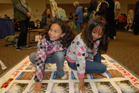 Children enjoy playing Tornado Twister at the fair.  Photo credit: UCR Strategic Communications. (More photos below.)