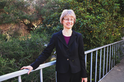 Marylynn V. Yates has been named the dean of UC Riverside's College of Natural and Agricultural Sciences.  Photo credit: UCR Strategic Communications.