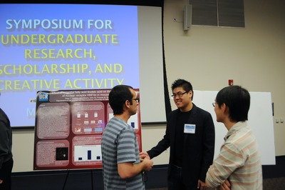 Students who receive Chancellor's Research Fellowships will be expected to present their work at the annual Symposium for Undergraduate Research, Scholarship and Creative Activity.