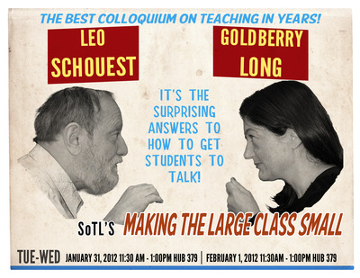 The promotional poster for the colloquium.