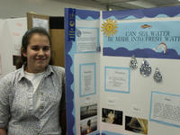 Lauren Garcia, grade 6, of Hawthorne Elementary School, received awards from UC Riverside in environmental sciences and mechanical engineering.