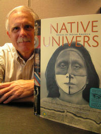 Cliff Trafzer, with the book he co-edited