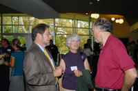 Bob and Kathleen Grey at an event at the UCR Alumni and Visitors Center