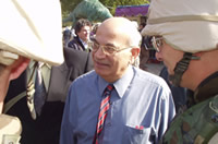 U.S. Forces accompany Ambassador Ghougassian at Bahgdad University
