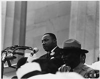Dr. Martin Luther King, Jr. (credit National Archives)
