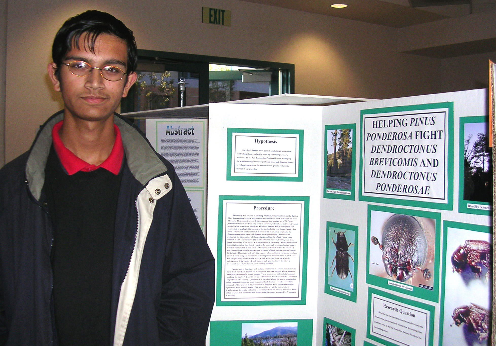 North High School student Daniel Kari is continuing his research on ...