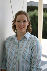 Elizabeth Cochran is an assistant professor of seismology in the Department of Earth Sciences. Photo credit: Moh El-Naggar.