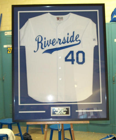 UCR retired Troy Percival's jersey