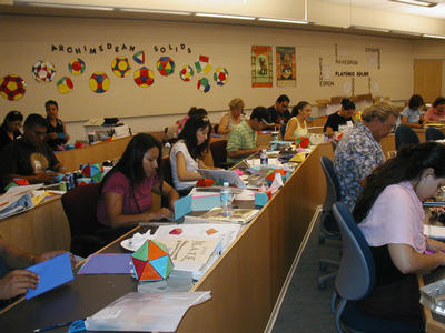 The MATE program offers teachers many hands-on activities that can be used in the classroom.
