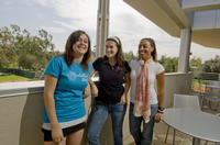 UCR students enjoy gathering in the Commons on campus, photo credit: Walter Urie