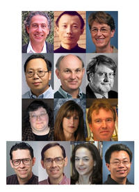Top row, left to right: Steven Brint, Jie Chen, and Daphne J. Fairbairn; second row, left to right: Jianying Gan, J. Daniel Hare, and Marshall W. Johnson; third row, left to right: Cynthia K. Larive, Carol J. Lovatt, and Alan McHughen; bottom row, left to right: Mart Molle, Eugene A. Nothnagel, Jan E. Stets, and Yushan Yan.