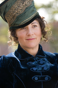 Actress Eve Best as Dolley Madison