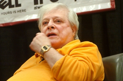 Harlan Ellison/Photo by John Anderson/Used with permission