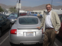 Anthony Norman, a distinguished professor emeritus of biochemistry and biomedical sciences at UC Riverside, has a car with a vanity license plate that reads