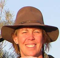 Mary Droser is a professor of geology and the chair of the Department of Earth Sciences at UC Riverside.  Photo credit: Droser lab, UC Riverside.