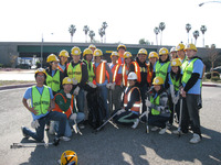 UCR's Beta Phi Delta helped to beautify freeway on/off ramps in Wards 3 and 4 in the city of Riverside. Photo courtesy of Keep Riverside Clean and Beautiful.