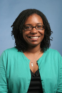 Lindsey Malcom, an assistant professor of education