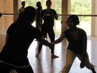 Dance students at 2010 Gluck Summer Camp
