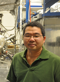 Roland Kawakami is a professor of physics and astronomy at UC Riverside.  Photo credit: UCR Strategic Communications. (Another image below.)