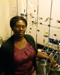 Akua Asa-Awuku, an assistant professor of chemical and environmental engineering