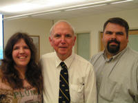 From left: Jennifer Carey, Dr. Edward Petko, and Mark Wright.
